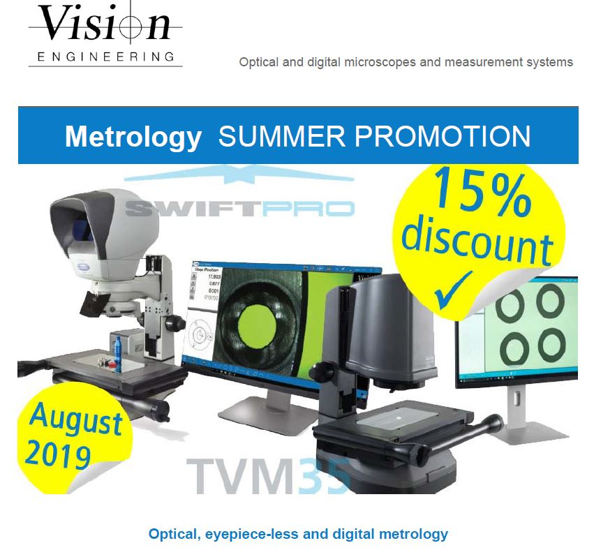 Измервателни системи SwiftDuo на Vision Engineering